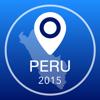 Guía de Perú Offline Mapa + Ciudad Navegador, Atracciones y Transportes