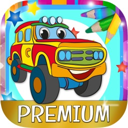 Paint Magic cars - coloring cars and vehicles - Premium