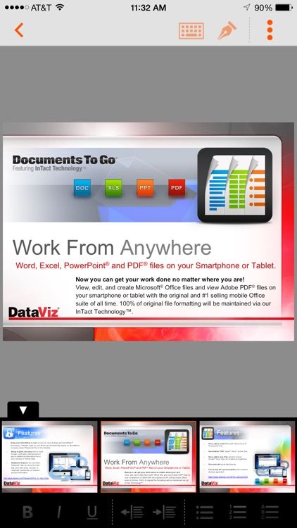 Documents To Go® - for BES12 screenshot-3