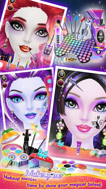 Make Up Me: Halloween - Girls Makeup, Dressup and Makeover Game screenshot-4