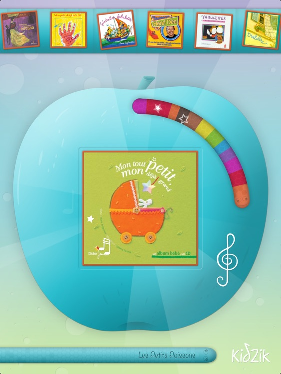 KidZik, music player for kids screenshot-4
