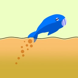 Blue Whale Jump - Fish Jumping Fun