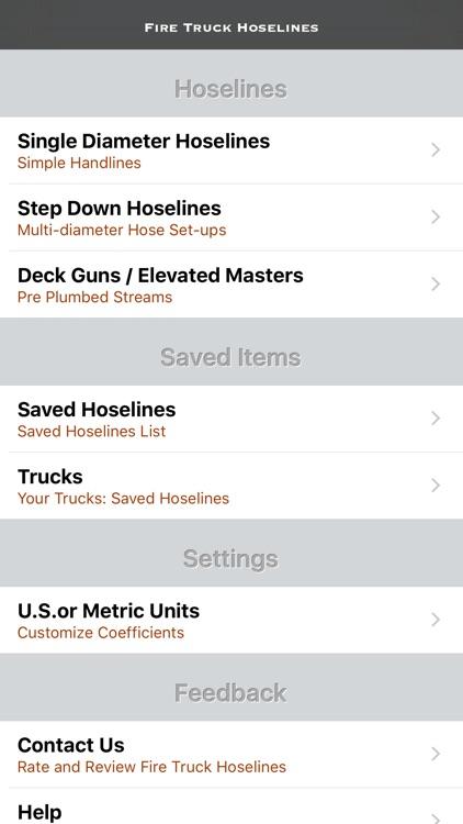 Fire Truck Hoselines screenshot-0