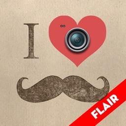 StacheTastic! FLAIR Art of Mustache Beard Booth Stache Yourself