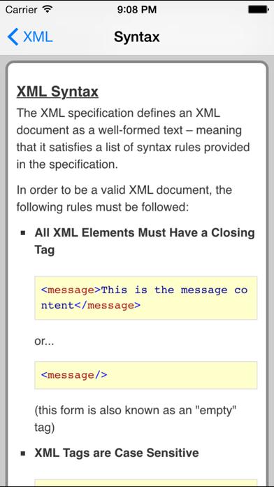 XML Pro FREEのおすすめ画像3