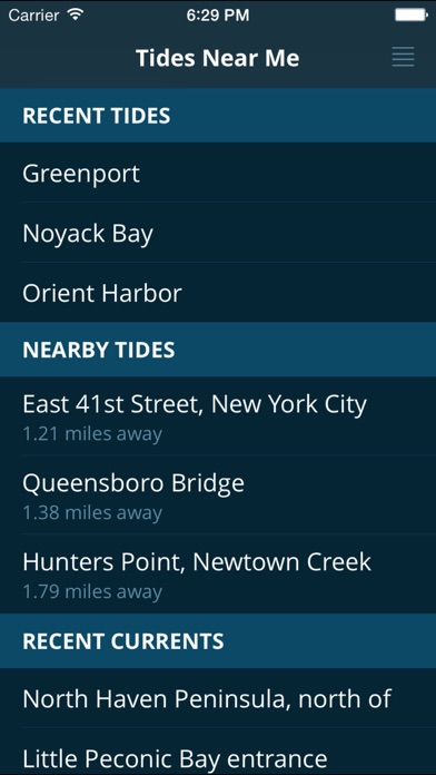 Tides Near Me - Free for Windows