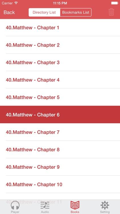 NKJV Bible (Audio & Book) screenshot-4
