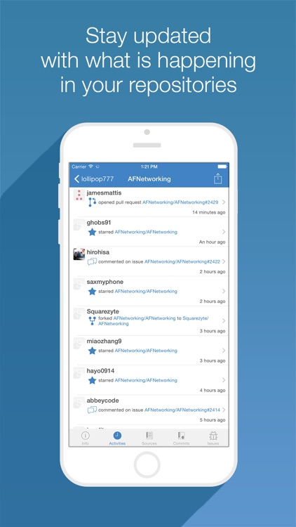 SuitHub - GitHub Client for iPhone & iPad