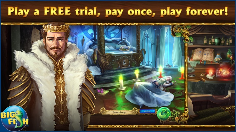 Grim Legends 2: Song of the Dark Swan - A Magical Hidden Object Game screenshot-0