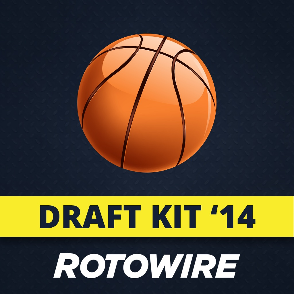 RotoWire Fantasy Basketball Draft Kit 2014
