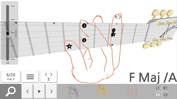 Guitar Chord 3D Pro screenshot-2