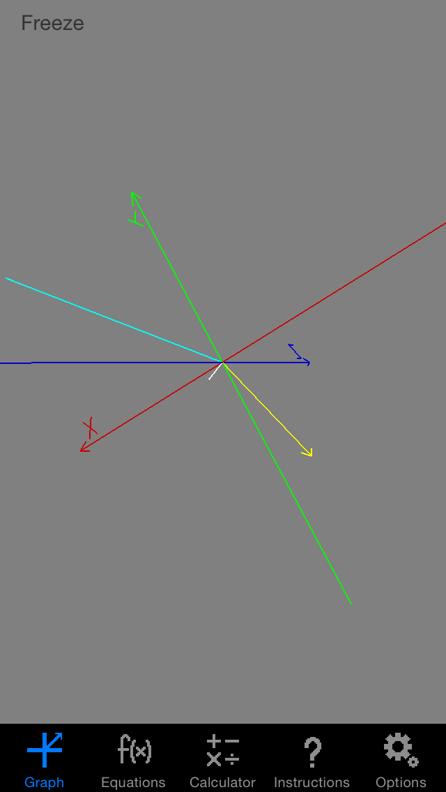 Vector Grapher screenshot one