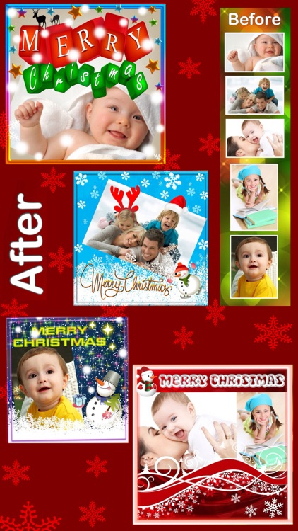 Christmas Photo Frames and Stickers :)