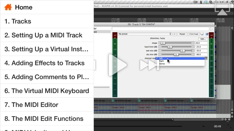 AV for Reaper 103 - MIDI Instruments and Plugins by ASK Video