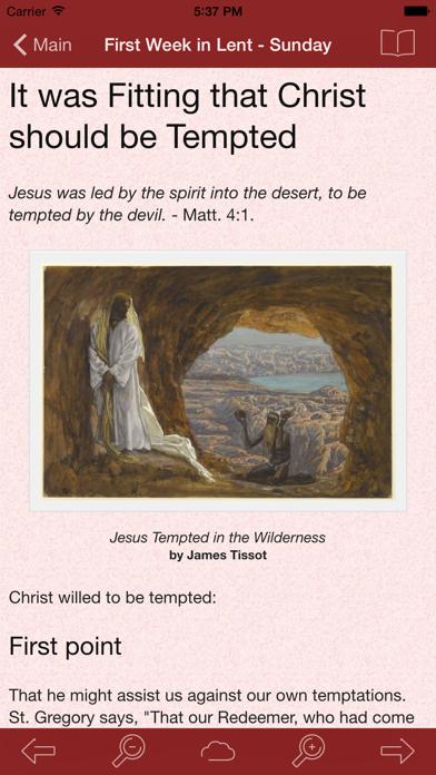 Lent: Catholic Meditations for Lent by St. Thomas Aquinas screenshot two