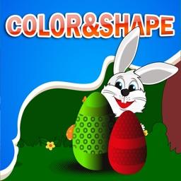 Learning Shape and Color for Kindergarten