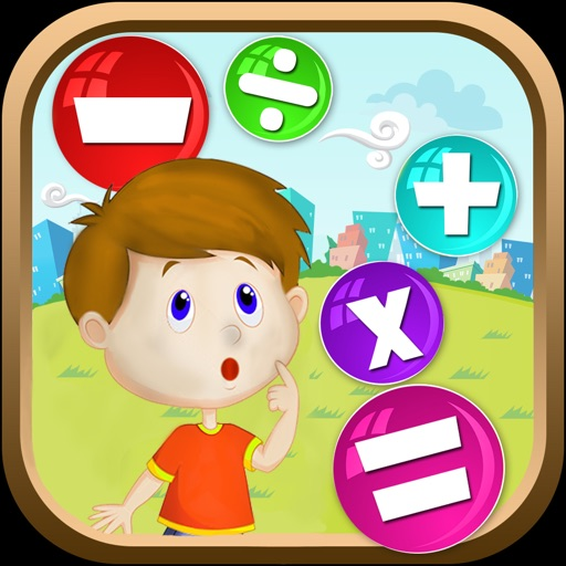 Genius Math for Kids icon