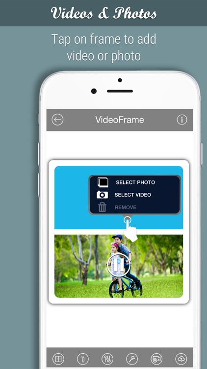 VideoFrame - Photo and Video frames