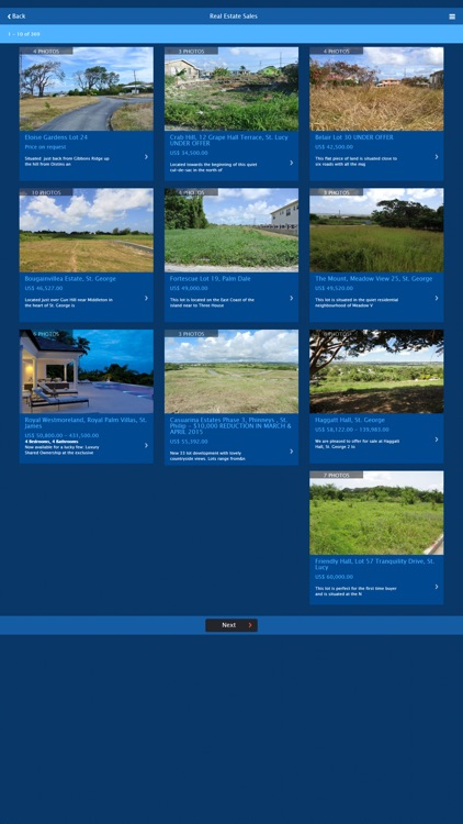Caribbean Island Properties screenshot-2