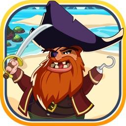A Pirate King Treasure Ship Jumper - Board Maze Island Runner