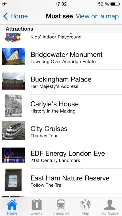 London Travel Guide Offline screenshot-3
