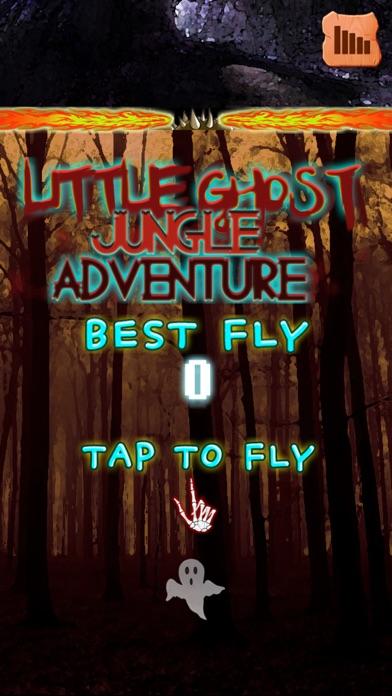 リトルゴーストジャングルアドベンチャー無料版のスクリーンショット1