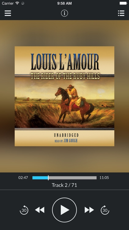 The Rider of the Ruby Hills (by Louis L'Amour) (UNABRIDGED AUDIOBOOK)