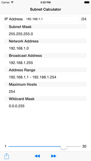 Subnet Calculator + on the App Store