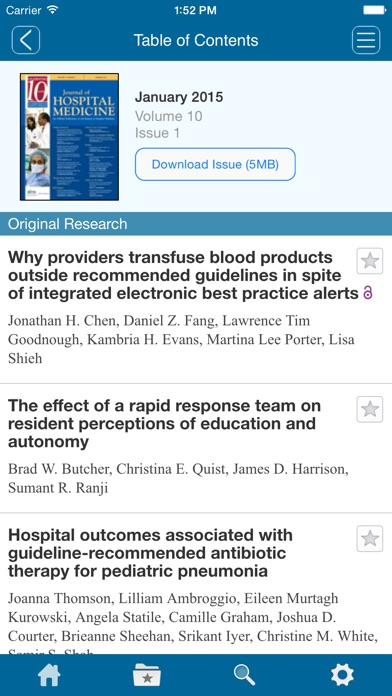 The Journal Of Hospital Medicine review screenshots