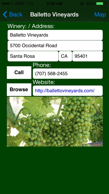 Sonoma County Winery Finder screenshot-3