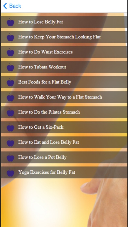 How to Lose Belly Fat - Tips for a Flatter Stomach screenshot-4