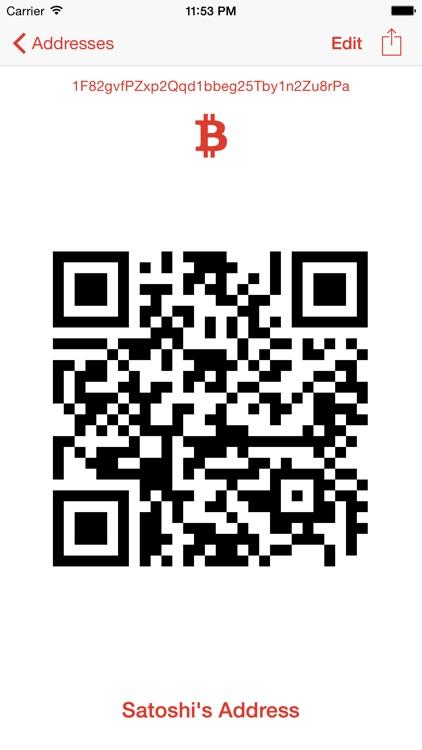Bitcoin Address Keeper