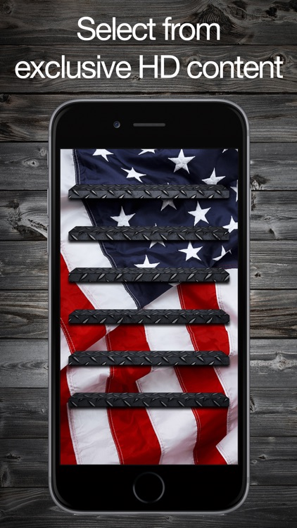 Pimp Your 6 & 6 Plus - HD Backgrounds, Lock Screens, Frames, Shelves, Wallpaper for iPhone screenshot-3