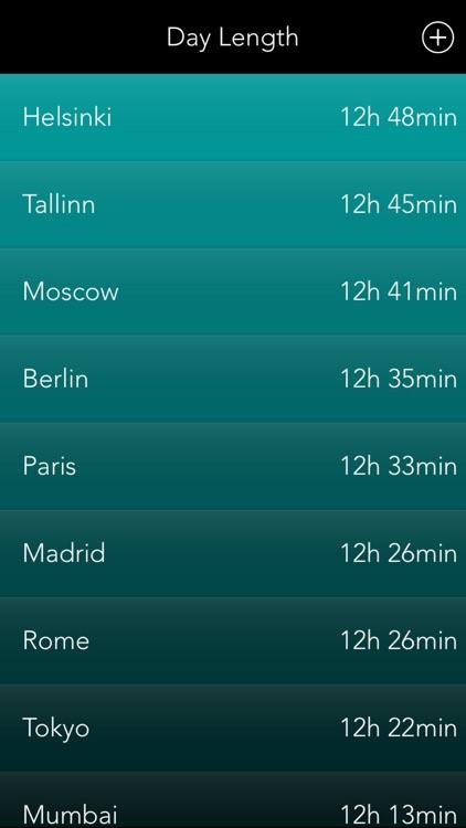 Weather Compare - List Stats screenshot-3