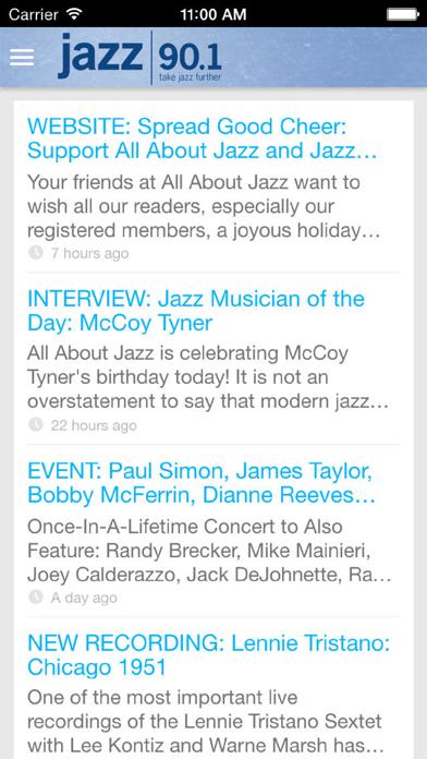 Jazz90.1 WGMC-FM screenshot three