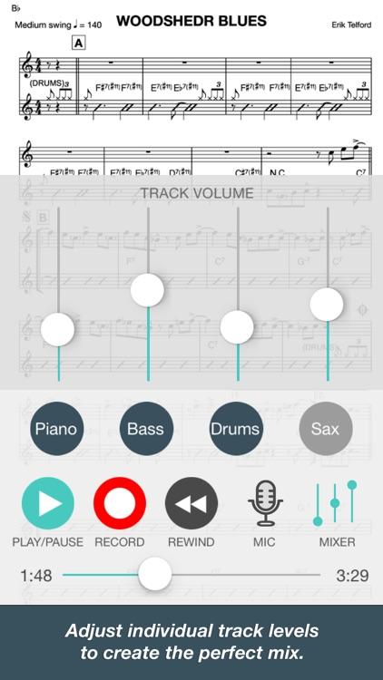 Woodshedr - Jazz PlayAlong