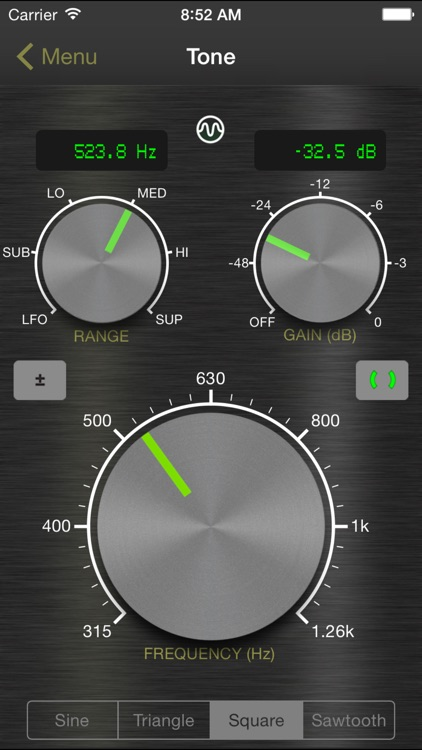 Signal Generator: Audio Test Tone Utility screenshot-4