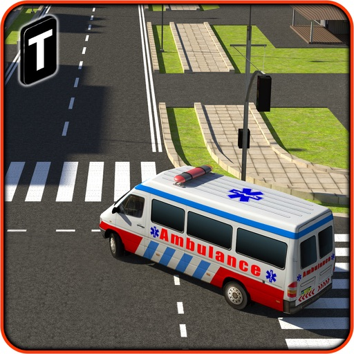 Ambulance Rescue Simulator 3D - Patients Hospital Delivery Sim