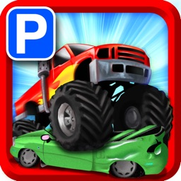 Monster Truck Jam - Expert Car Parking School Real Life Driver Sim Park In Bay Racing Games