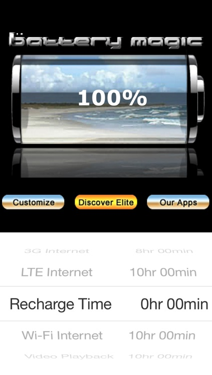 Battery Magic: Battery Life Battery Stats Battery Charge & Saver all in one! screenshot-4