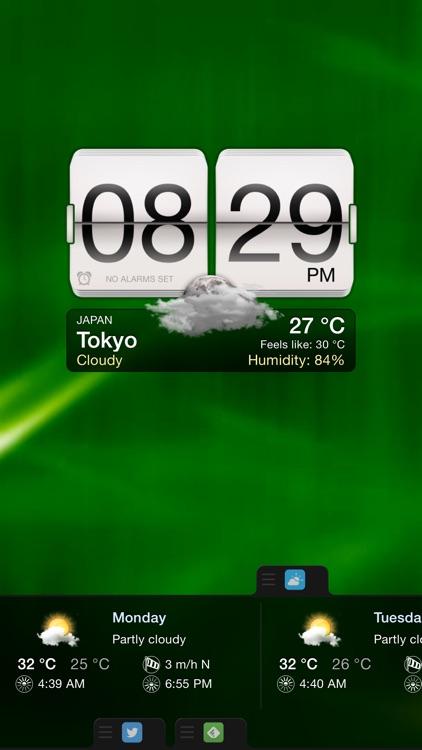 Night Stand for iPhone - Alarm Clock, Weather & Photo Slideshow screenshot-4