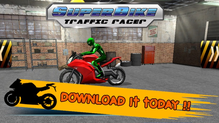 3D SuperBike Traffic Rush Racing - High Speed Highway Rider : FREE GAME screenshot-3