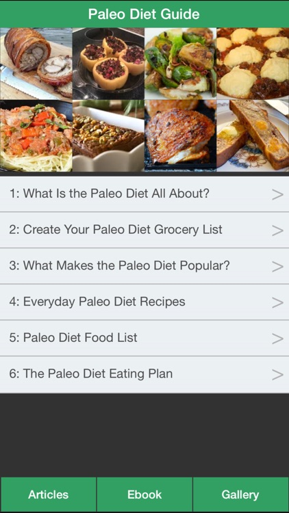 Paleo Diet Guide - Have a Fit & Healthy with Paleo Diet! screenshot-0