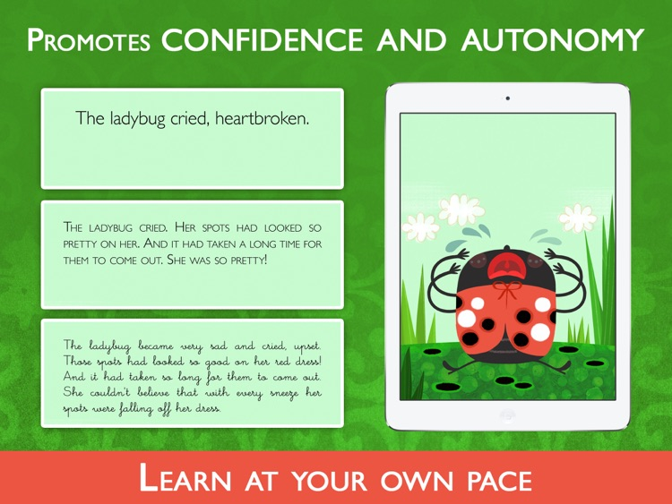 Teach me to read – Achoo!, an Educational Montessori Tool with Activities and Books for Learn to Read. screenshot-3