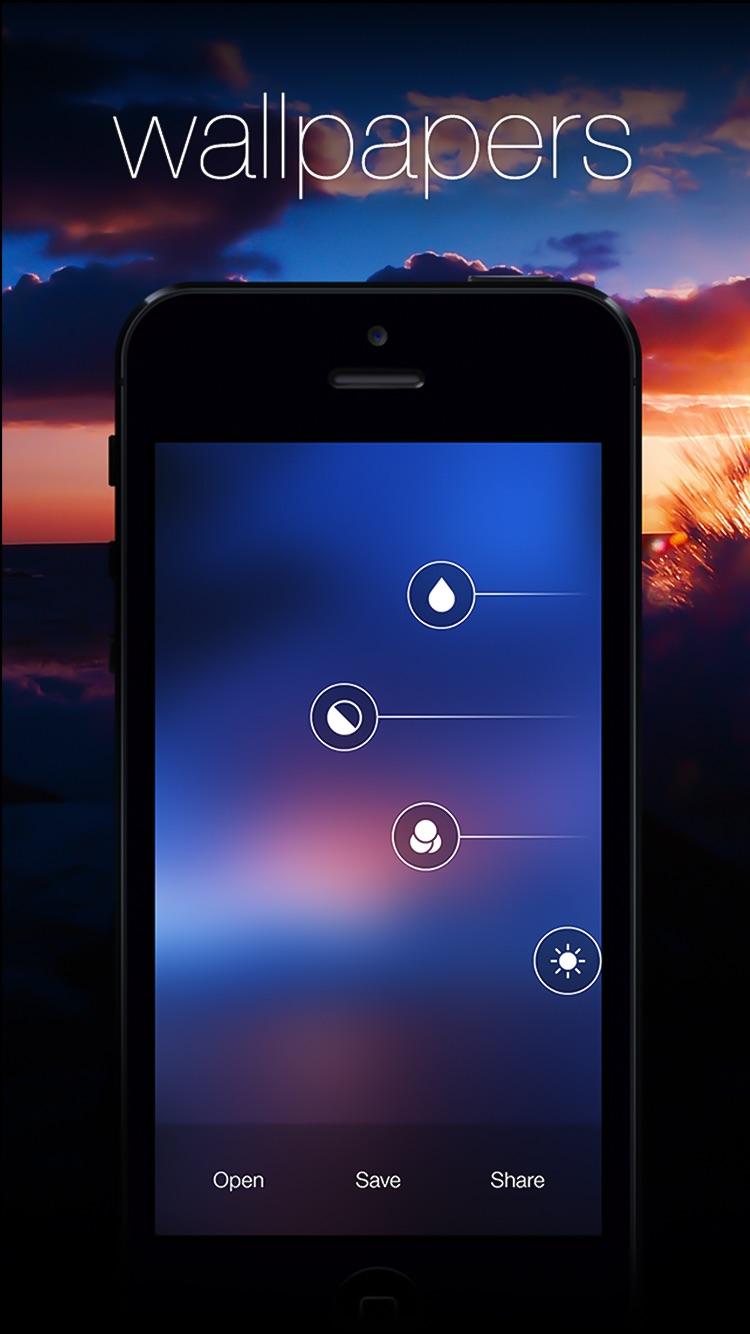 Blurify - Create custom blurred iOS 7 style background wallpapers Screenshot