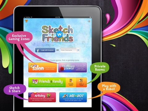 Sketch W Friends - Multiplayer Drawing and Guessing Games for iPad для iPad