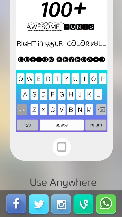Font Changer - Color Keyboard Themes & Custom Fonts Keyboard