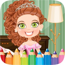 Activities of Princess Colorbook Educational Coloring Game for Kids Girls
