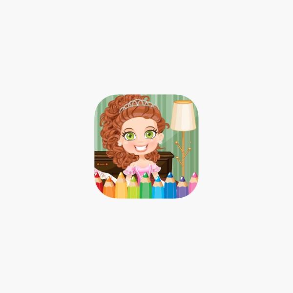 Juego Princesa Colorbook colorear Educativa para Niños Chicas en App ...