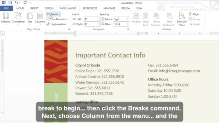 Easy To Learn - Microsoft Word 2013 Edition screenshot-3